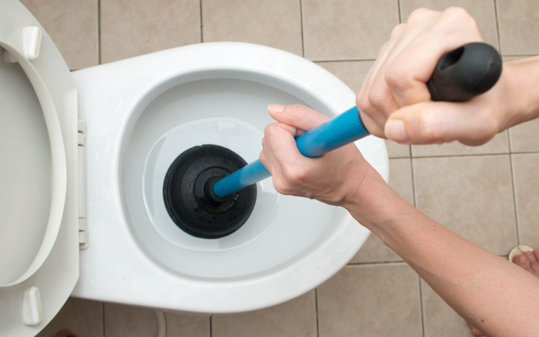 The Toilet's Clogged — What Should You Do?